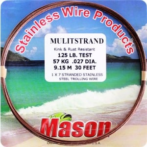 Mason Multistrand Wire - Brown 30ft