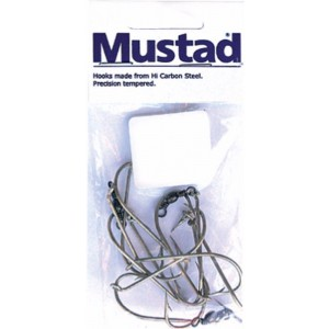 Mustad Ganged Hook Swivel - 3 Sets
