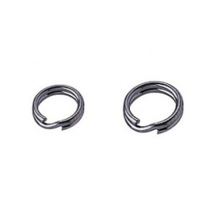 Owner P04 Fine Wire Split Rings - Black Nickel