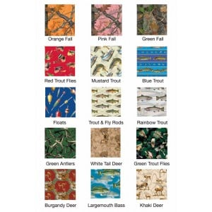 Rivers Edge Outdoor Series Wrapping Paper