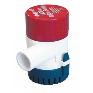 Rule Submersible Bilge Pump - Round Base