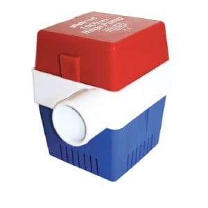Rule Non-Automatic Submersible Bilge Pump - Square