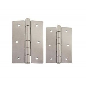 RWB Marine Butt Hinge Pair - Stainless Steel