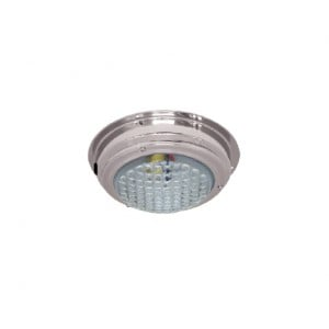 RWB Marine Stainless Dome Light - 12V