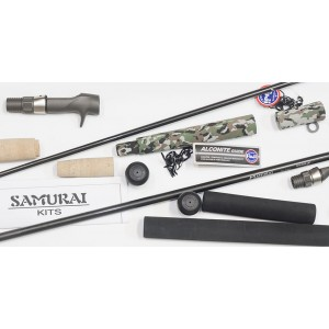 Samurai Spin Rod Building Kit - O Ring