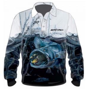 Samaki Murray Cod Long Sleeve Shirt - Adult
