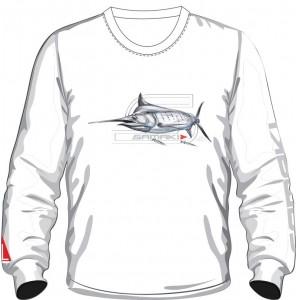 Samaki Marlin Long Sleeve T-Shirt - Adult