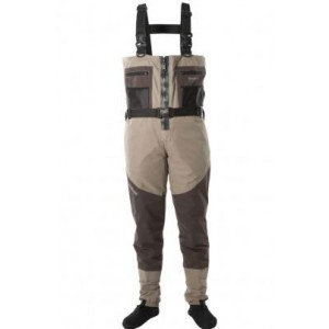 Snowbee Prestige Zip-Front Breathable Chest Stockingfoot Wader