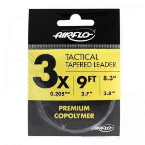 Airflo Tactical Tapered Leader 9ft