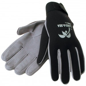 Land & Sea Amara Dive Gloves w/ Velcro