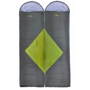 Oztrail Bass Sleeping Bags - Twin Pack (B)