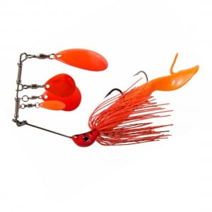 Bassman Spinnerbaits Codman Series 4x4s