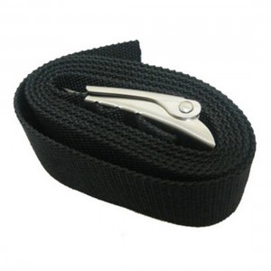 Land & Sea Weight Belt & S/S Buckle - Black