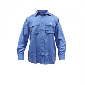 Samaki Breeze Mens Vented Long Sleeve Shirt