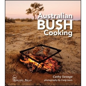 A.B.C Maps Australian Bush Cooking Boiling Billy Book Spiral Bound