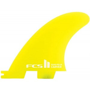 FCS II Carver Neo Glass Quad Rear Retail Fins