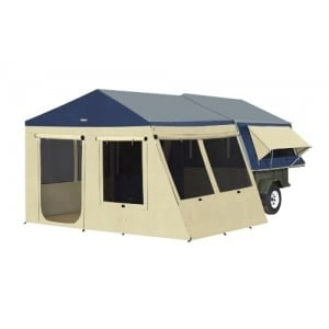 Oztrail Sunroom & Floor Kit to suit Camper 6/7