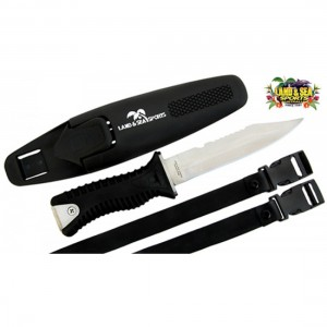 Land & Sea Commando Dive Knife + Sheath