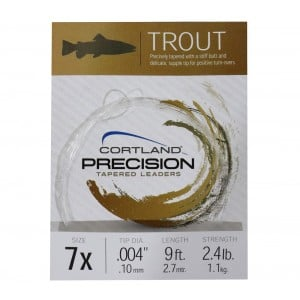 Cortland Precision Trout Leader - 9ft