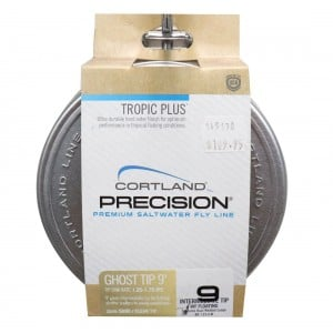 Cortland Fly Line Precision Tropic Plus Intermediate - 9ft Ghost Tip