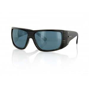 Carve No.13 Matt Black Streak Polarized Sunglasses