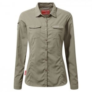 Craghoppers NosiLife Womens Adventure II Long Sleeve Shirt