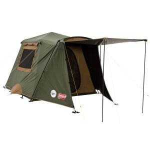 Coleman Instant Up Gold Vestible DarkRoom Tent - 4 Person