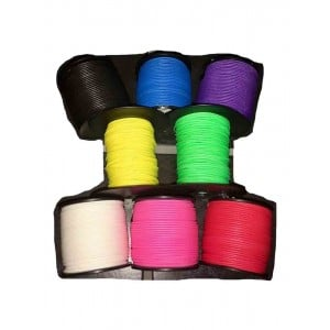 Aussie Reels Spectra 1.9mm x 50m Braid Cord Assorted Colours