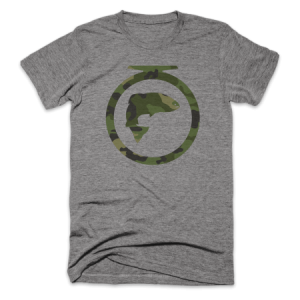 FishOn Energy Co. Camo Logo Tee Shirt