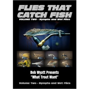Flies that Catch Fish - Vol 2 Nymphs & Wet Flies DVD