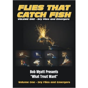 Flies that Catch Fish - Vol 1 Dry Flies & Emergers DVD