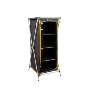 Oztrail 4 Shelf Deluxe Cupboard (C)