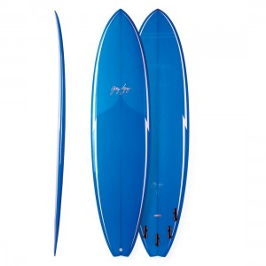 Gerry Lopez Surfboards Little Darling 5 Fin - FCS 2 Fins
