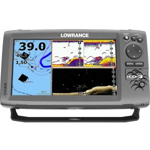 Lowrance Hook 9 Combo - Mid/High DownScan HDI Transducer with Navionics+