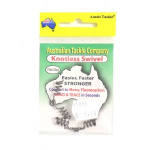 Aussie Tackle Knotless Swivel