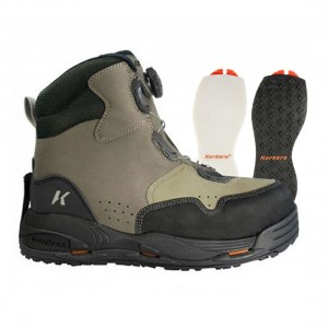 Korkers Metalhead Wading Boots Size UK7 (Reverse Auction)