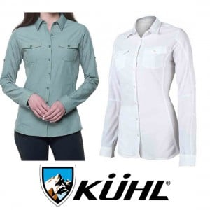 KUHL Womans Glydr L/S Shirt