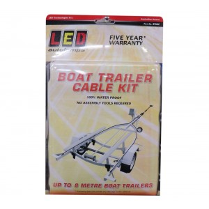 LED Autolamps Boat Trailer Cable Kit - Up to 8m