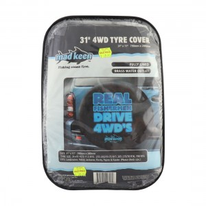 Mad Keen 31in 4WD Tyre Cover - Reverse Auction