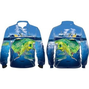 Samaki Mahi Mahi Long Sleeve Shirt - Kids