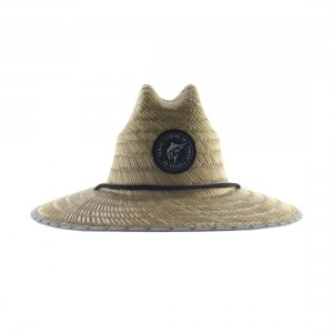 Samaki Marlin Patch Straw Hat