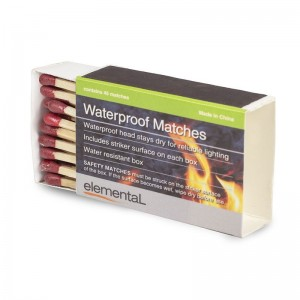 Elemental Waterprooof Matches 4 Box Pack