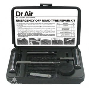 Dr. Air 27 Piece Emergency Tyre Repair Kit