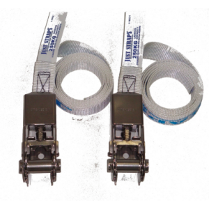 Just Straps Stainless Steel Light Duty Endless Ratchet Strap - 25mm x 1.5m