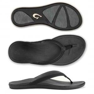 OluKai HoOpio Leather Womens Shoe