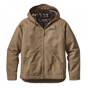 Patagonia Mens Lined Canvas Hoody