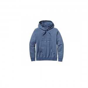 Patagonia Mens Geodesic Flying Fish Lightweight Hooded Sweatshirt