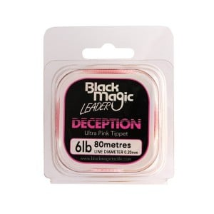 Black Magic Deception Ultra Pink Tippet