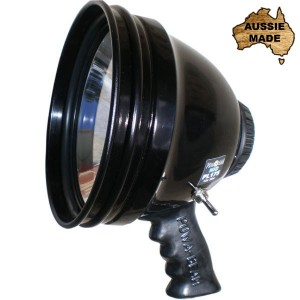 Powa Beam 7in 55W HID Hand Held Spotlight