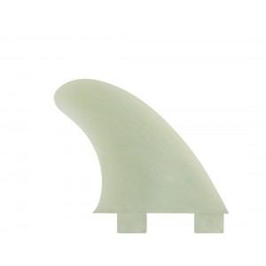 FCS Gl Natural Glass Flex Side Fin Set